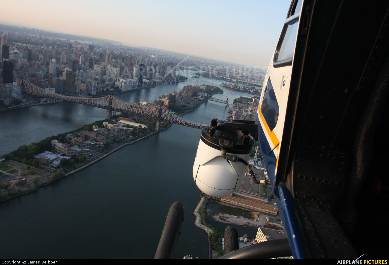 USA - Police N318PD aircraft at In Flight - New York (State)