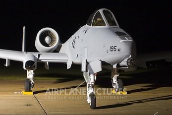 79-0195 - USA - Air Force Fairchild A-10 Thunderbolt II (all models)