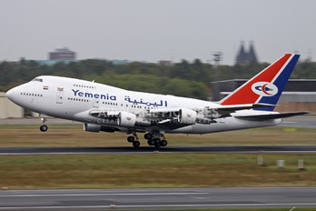 7O-YMN - Yemenia - Yemen Airways Boeing 747SP