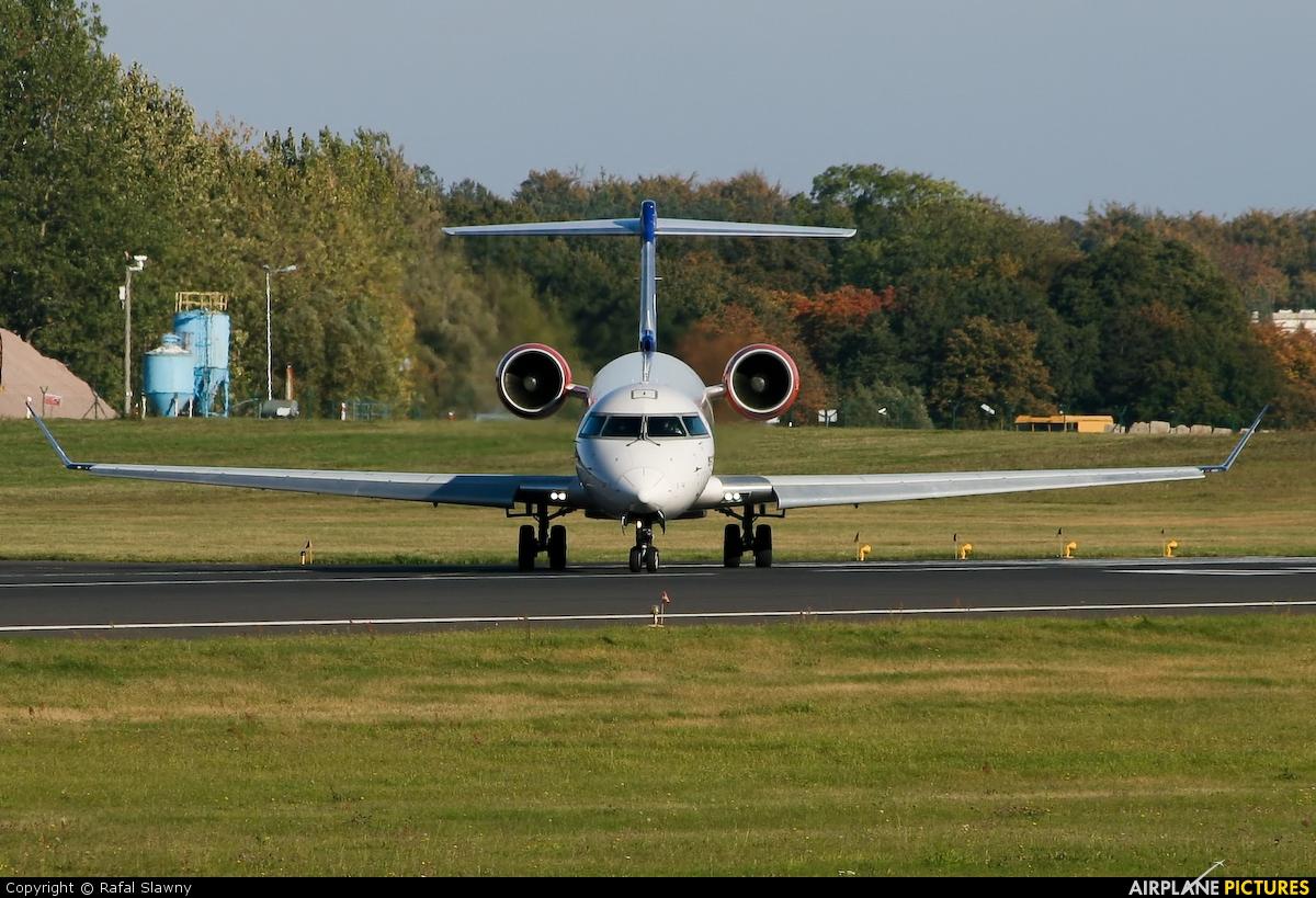 SAS - Scandinavian Airlines OY-KFB aircraft at Gdańsk - Lech Wałęsa