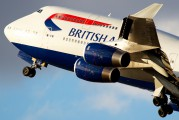 G-BNLU - British Airways Boeing 747-400 aircraft