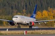 LN-TUD - SAS - Scandinavian Airlines Boeing 737-700 aircraft