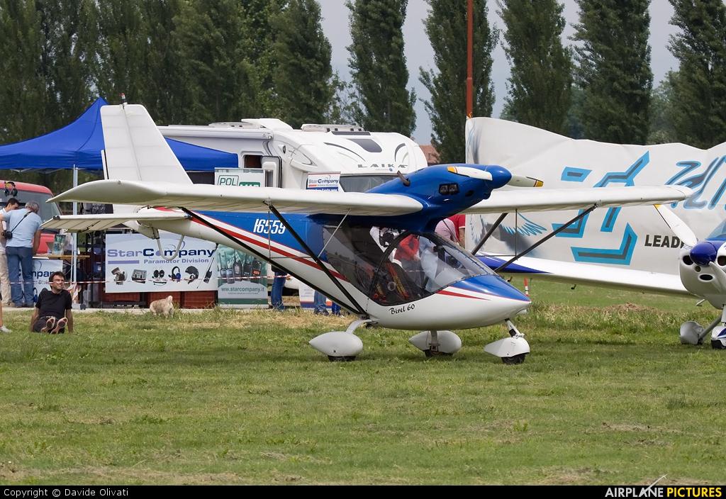 Private I-6559 aircraft at Bergamo - Caravaggio