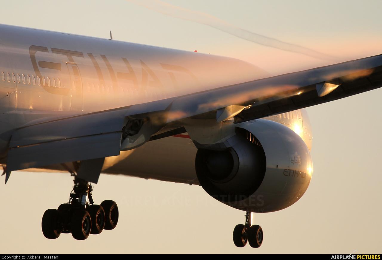 Etihad Airways A6-ETK aircraft at London - Heathrow