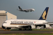 9V-SKG - Singapore Airlines Airbus A380 aircraft