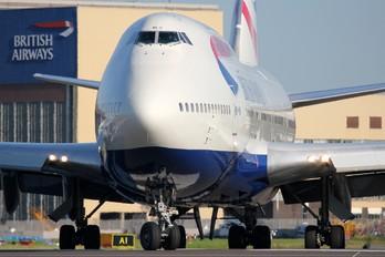 G-BNLZ - British Airways Boeing 747-400