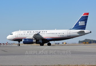 N812AW - US Airways Airbus A319