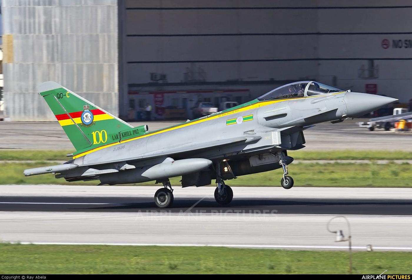 Royal Air Force ZJ936 aircraft at Malta Intl