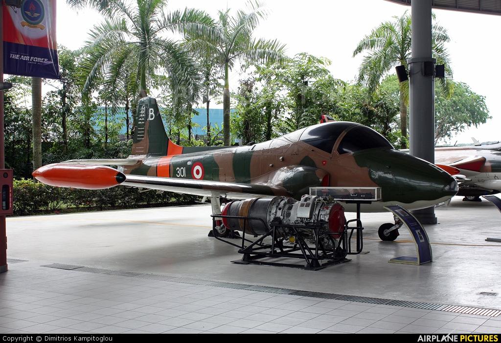 Singapore - Air Force 301 aircraft at Paya Lebar