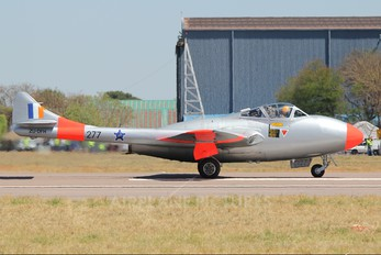 ZU-DHF - South Africa - Air Force Museum de Havilland DH.115 Vampire T.55