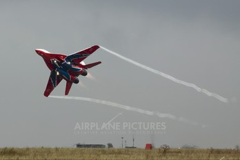 "02 - Russia - Air Force ""Strizhi"" Mikoyan-Gurevich MiG-29UB"
