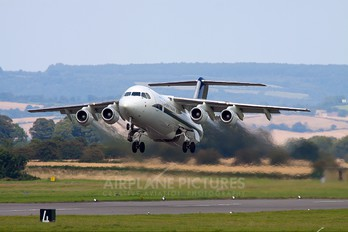 G-BZAY - UK - QinetiQ British Aerospace BAe 146-300/Avro RJ100