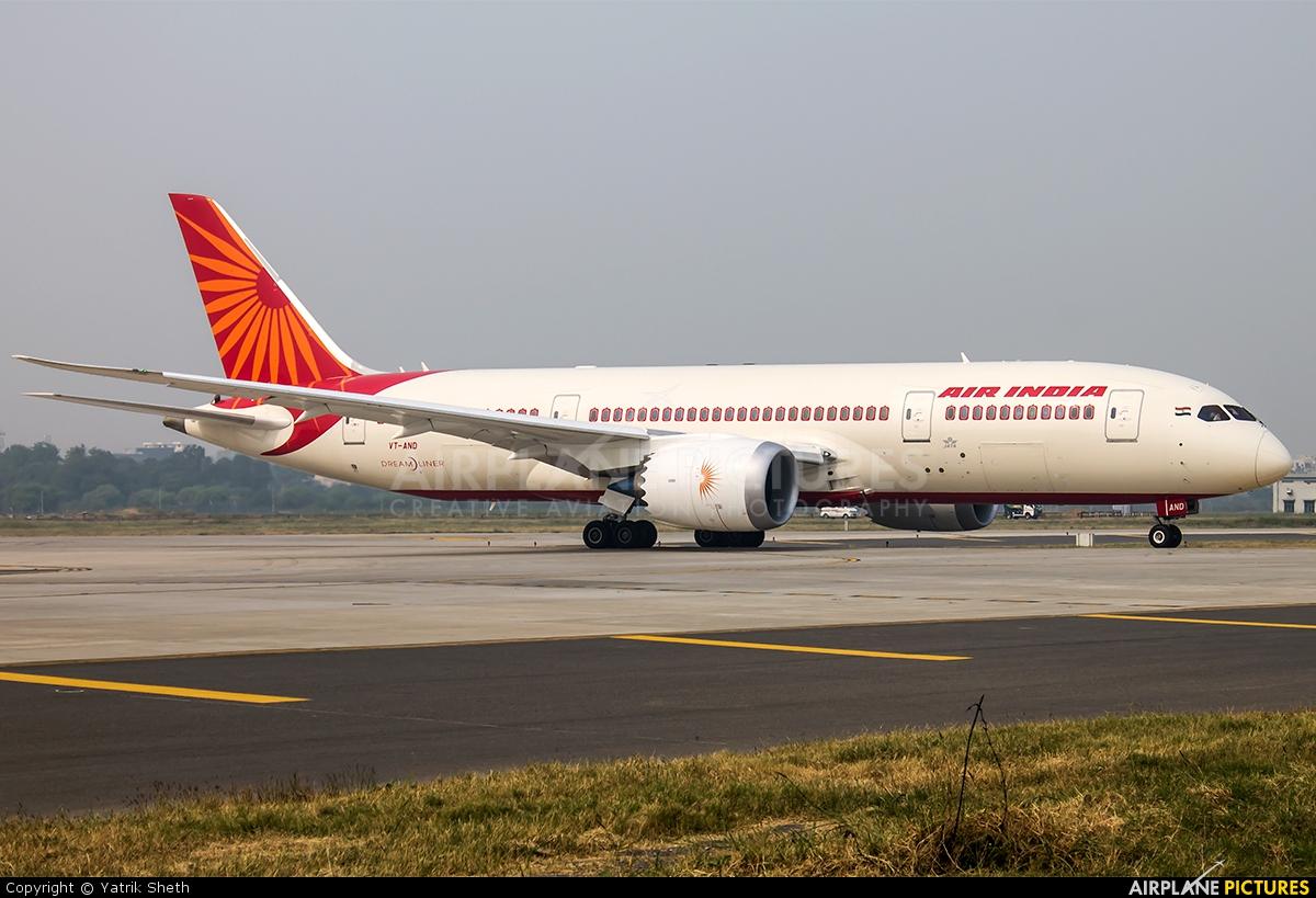 Air India Vt And Aircraft At Delhi Indira Gandhi Intl