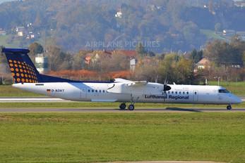 D-ADHT - Augsburg Airways - Lufthansa Regional de Havilland Canada DHC-8-400Q / Bombardier Q400