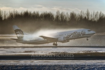 N793AS - Alaska Airlines Boeing 737-400