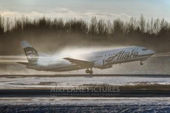 N793AS - Alaska Airlines Boeing 737-400