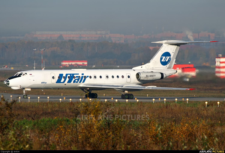 UTair RA-65977 aircraft at Koltsovo - Ekaterinburg