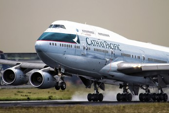 B-HUF - Cathay Pacific Boeing 747-400
