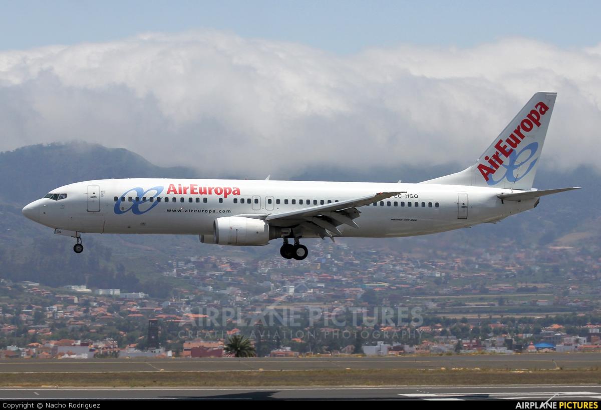 Air Europa EC-HGQ aircraft at Tenerife Norte - Los Rodeos
