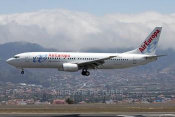 EC-HGQ - Air Europa Boeing 737-800