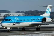 PH-OFN - KLM Cityhopper Fokker 100 aircraft