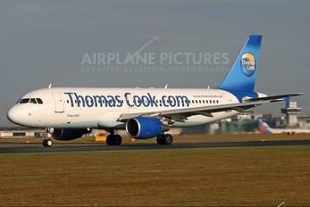 G-DHRG - Thomas Cook Airbus A320