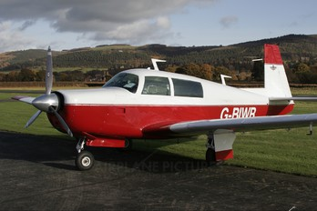 G-BIWR - Private Mooney M20F