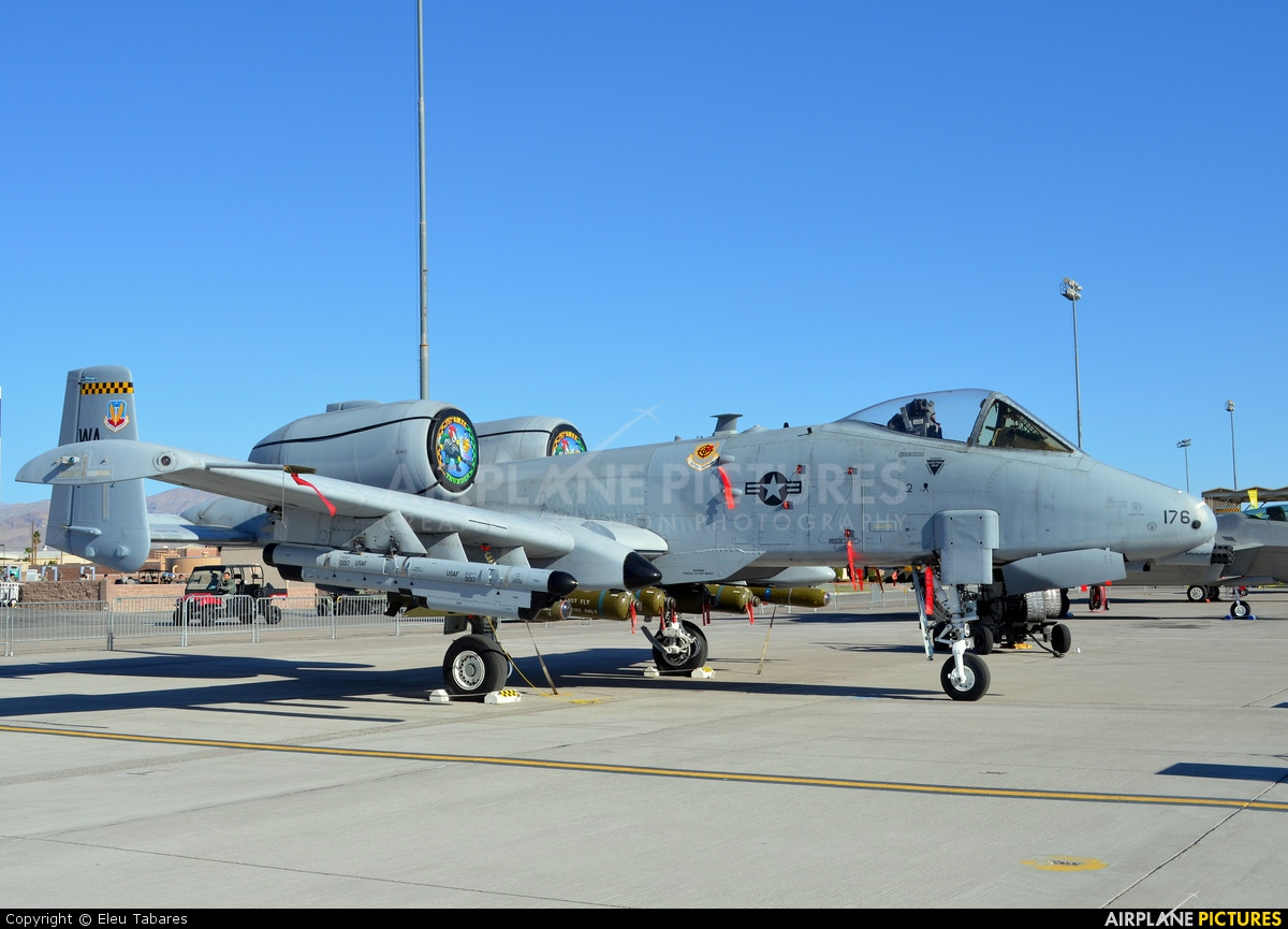 USA - Air Force 80-0176 aircraft at Nellis AFB