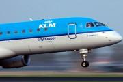 PH-EZC - KLM Cityhopper Embraer ERJ-190 (190-100) aircraft