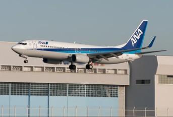 JA60AN - ANA - All Nippon Airways Boeing 737-800