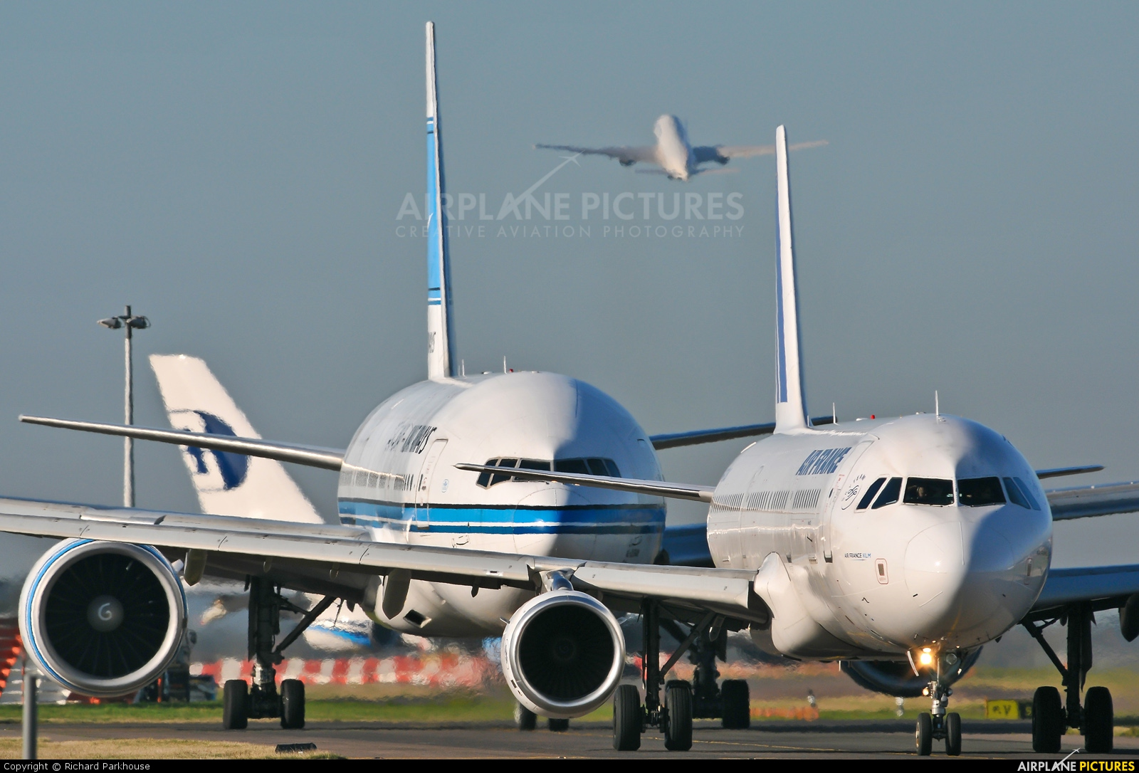 Air France - aircraft at London - Heathrow