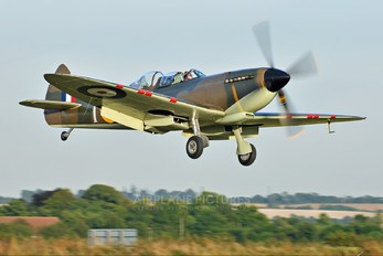 G-CCCA - Historic Flying Supermarine Spitfire T.9