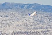 LN-BUF - SAS - Scandinavian Airlines Boeing 737-400 aircraft