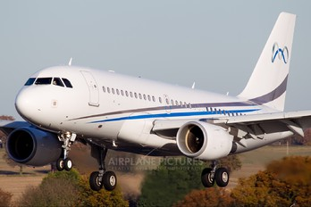 9H-MCE - Comlux Aviation Airbus A319 CJ