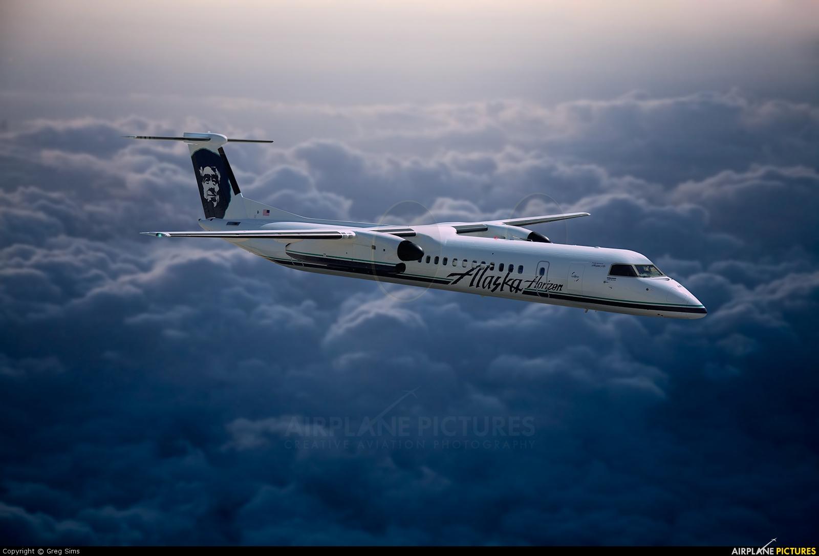 Alaska Airlines - Horizon Air - aircraft at In Flight - Alaska