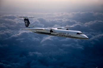 - - Alaska Airlines - Horizon Air de Havilland Canada DHC-8-400Q / Bombardier Q400