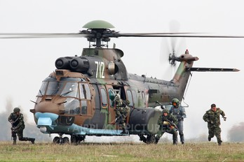 712 - Bulgaria - Air Force Eurocopter AS532 Cougar