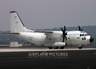 3401 - Mexico - Air Force Alenia Aermacchi C-27J Spartan