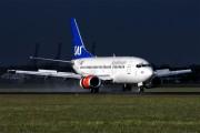 LN-BUE - SAS - Scandinavian Airlines Boeing 737-500 aircraft