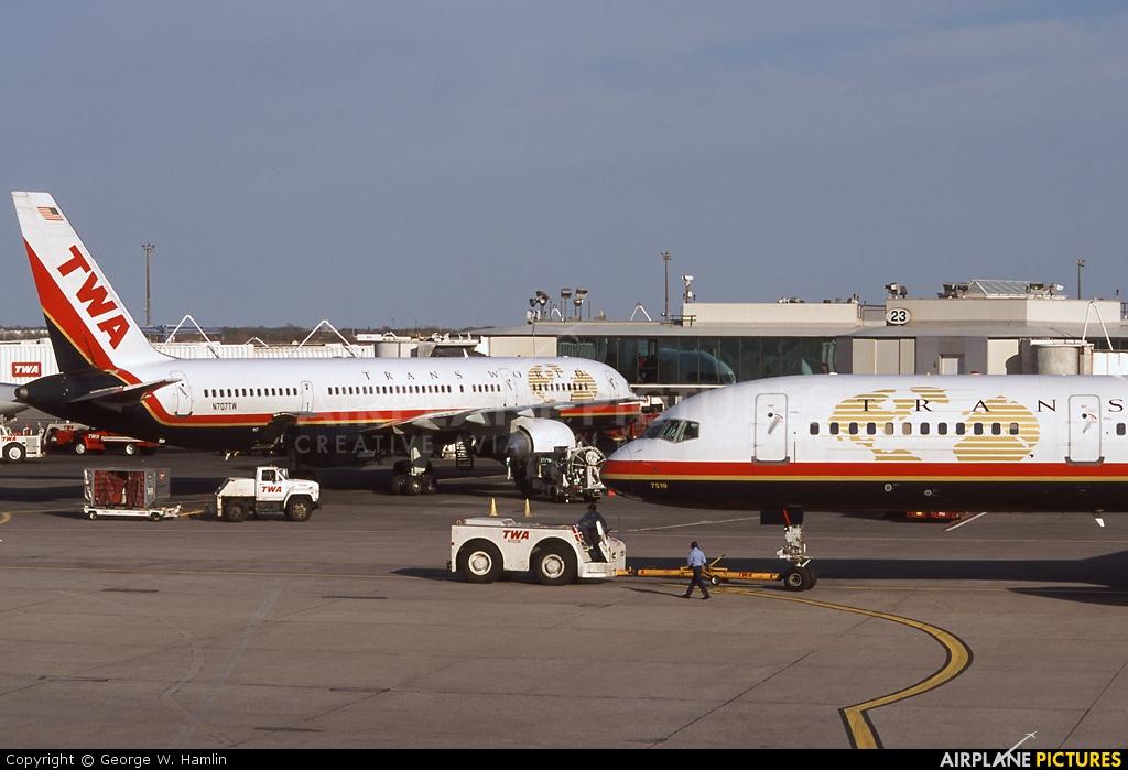 TWA N707TW aircraft at New York - John F. Kennedy Intl
