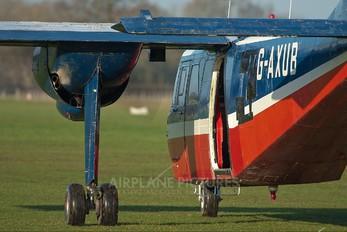 G-AXUB - Private Britten-Norman BN-2 Islander