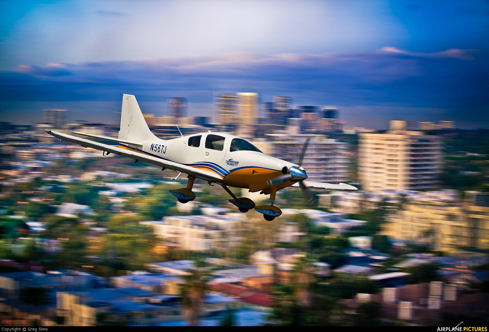 Private - aircraft at In Flight - California
