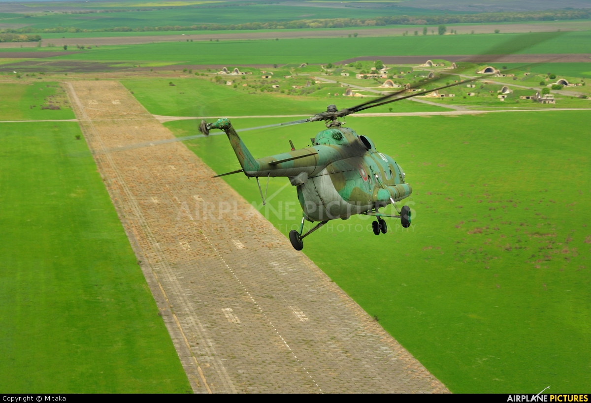 Bulgaria - Air Force 417 aircraft at Ravnetz