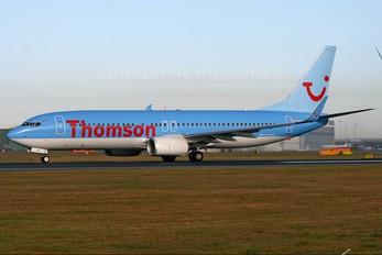 G-TAWF - Thomson/Thomsonfly Boeing 737-800