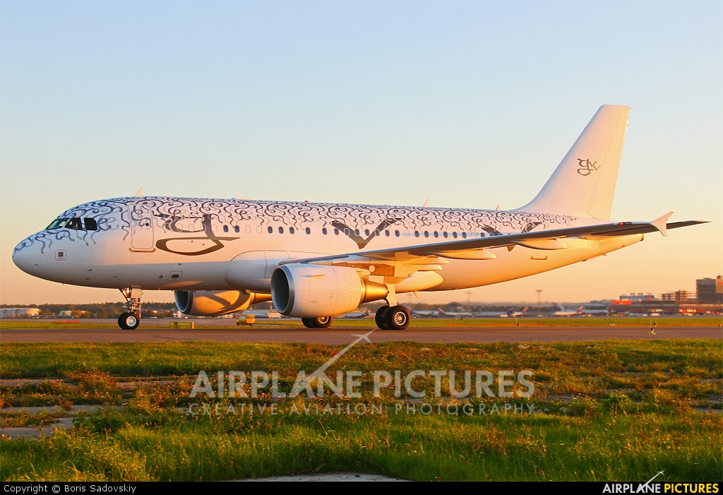 Private 9H-GVV aircraft at Moscow - Sheremetyevo