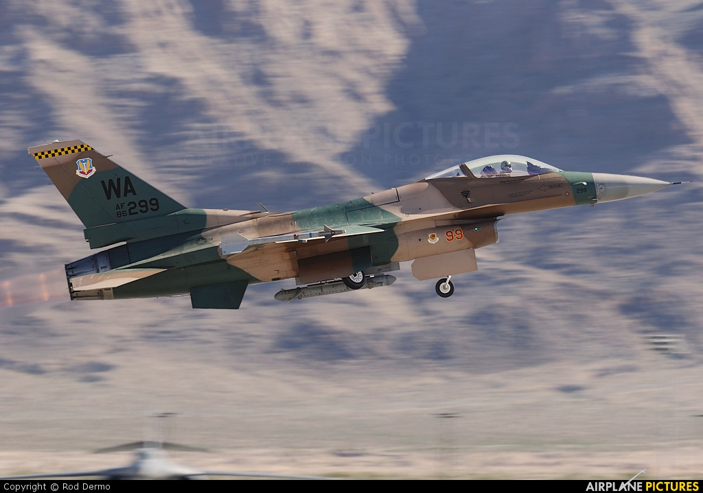 USA - Air Force 86-0299 aircraft at Nellis AFB