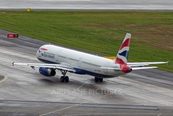 G-EUXH - British Airways Airbus A321