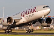 A7-BFA - Qatar Airways Cargo Boeing 777-200F aircraft
