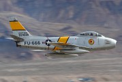NX860AG - Private North American F-86F Sabre aircraft