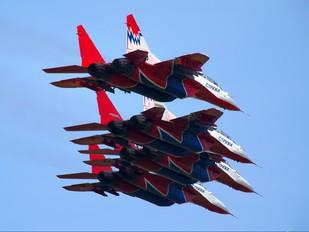 "09 - Russia - Air Force ""Strizhi"" Mikoyan-Gurevich MiG-29UB"